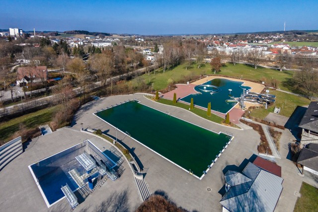 Outdoor Swimming Pool, Pffaffenhofen, Bayern, Germany