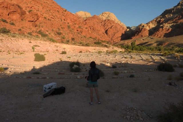 Calico Basin, Red Rock Canyon. Las Vegas