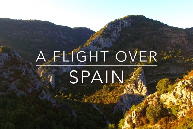 A Flight Over Spain – El Rasillo de Cameros, La rioja, Spain