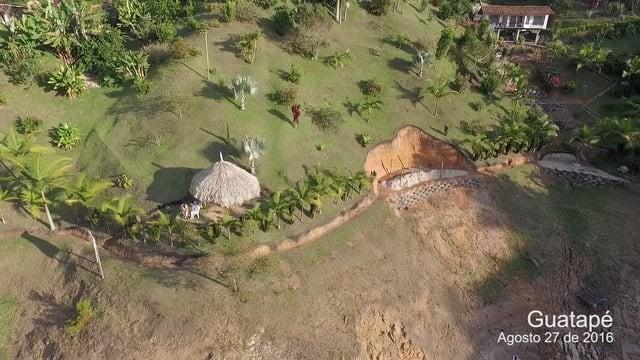 Represa de Guatape, Antioquia, Colombia.