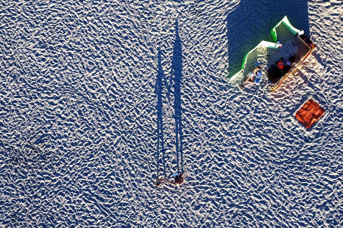 Miedzyzdroje plaża, Poland