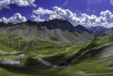 Albula Pass, Graubuenden, Switzerland
