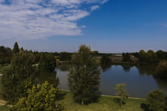 Parco urbano G. Bassani, Ferrara, Italia