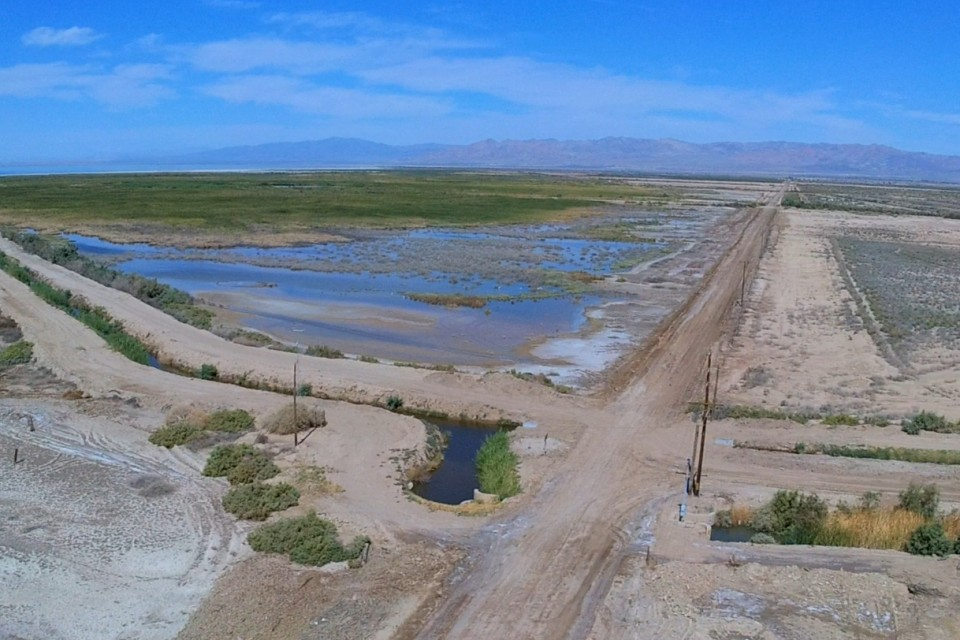 Abandoned Mineral Spa, Salton Sea