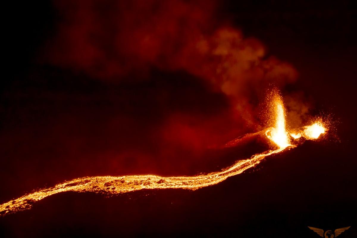 Reunion Island Volcano, Piton de la Fournaise