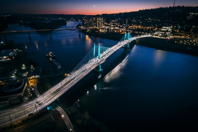 Tilikum Crossing, Bridge of the People Portland Oregon