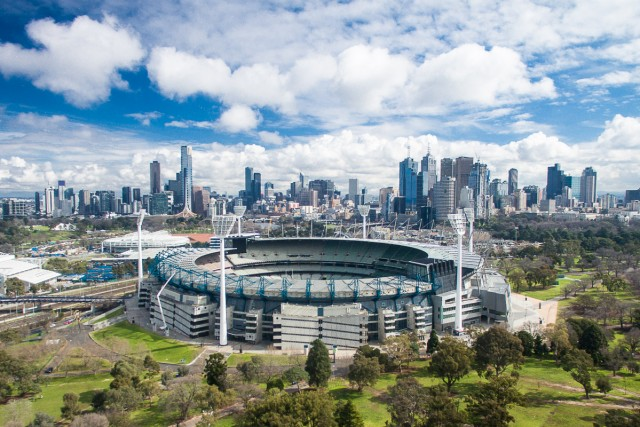 MCG & Melbourne in all its glory