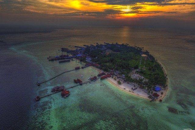 Derawan, East Kalimantan, Indonesia