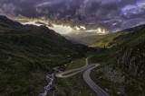Fluela Pass, Graubuenden, Switzerland