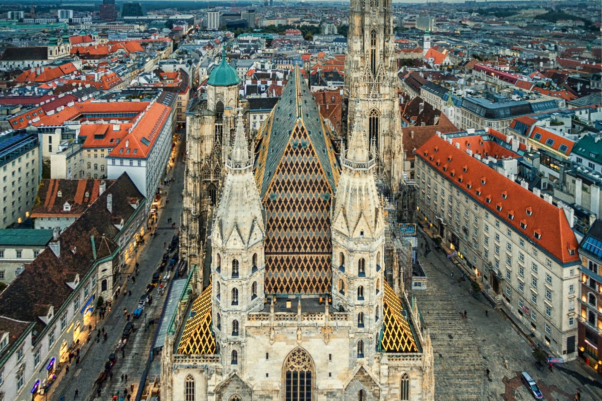 Image result for st stephen's cathedral vienna
