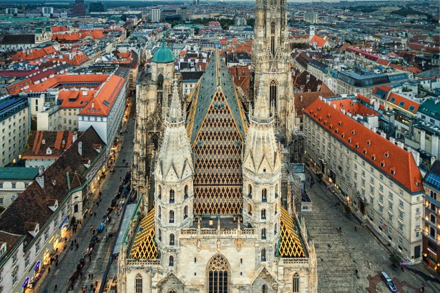St. Stephen's Cathedral, Vienna.