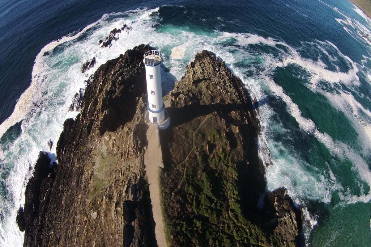 Cabo Home (oblique), Cangas de Morrazo, Spain  Dronestagram