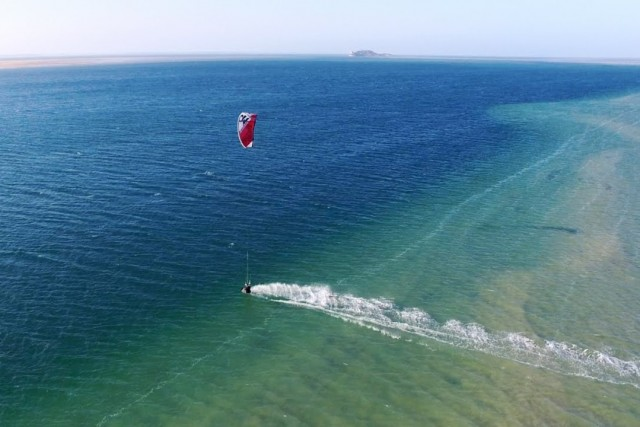 Kitesurfing in the Western Sahara, Morocco!