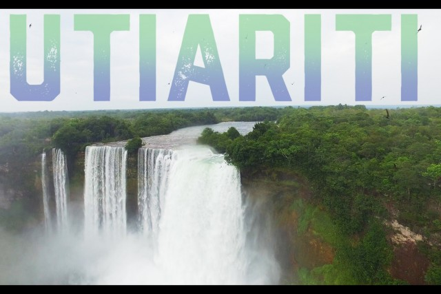 Utiariti Waterfall