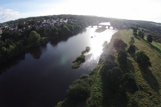 River Tyne, Corbridge, Northumberland, UK