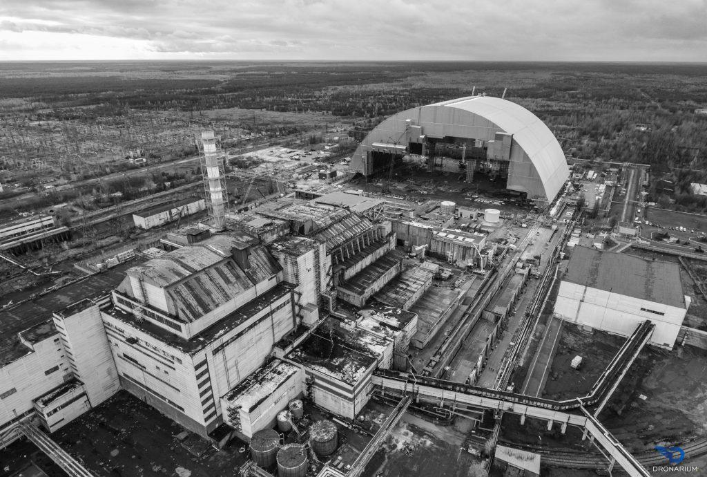 Chernobyl Nuclear Power Plant Dronestagram