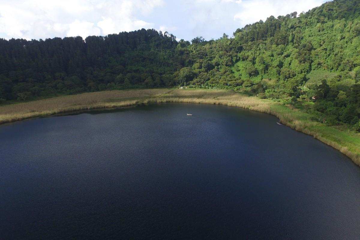 Laguna de Apaneca, Ahuachapan, El Salvador.