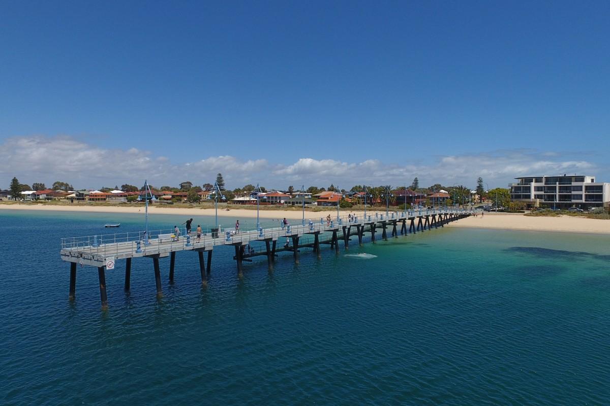 Palm Beach Jetty, Rockingham, WA, Australia