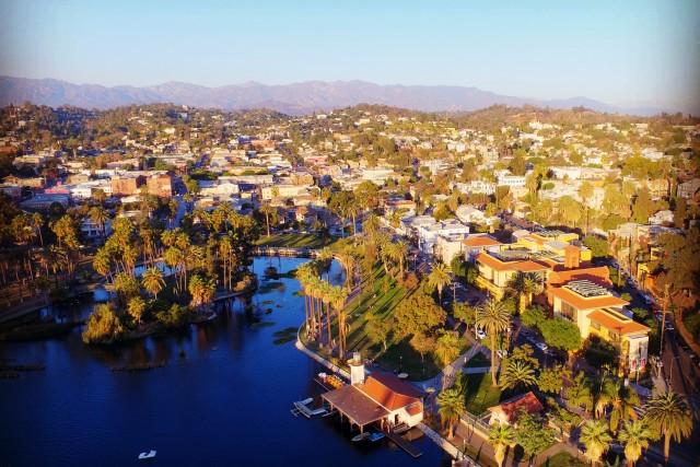 Echo Park, Los Angeles, California, USA