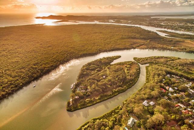 Makepeace Island, Sunshine Coast, Australia