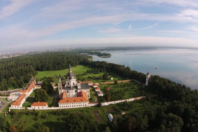 Komanduliai monastery, Pažaislis,  Kaunas, Lithuania