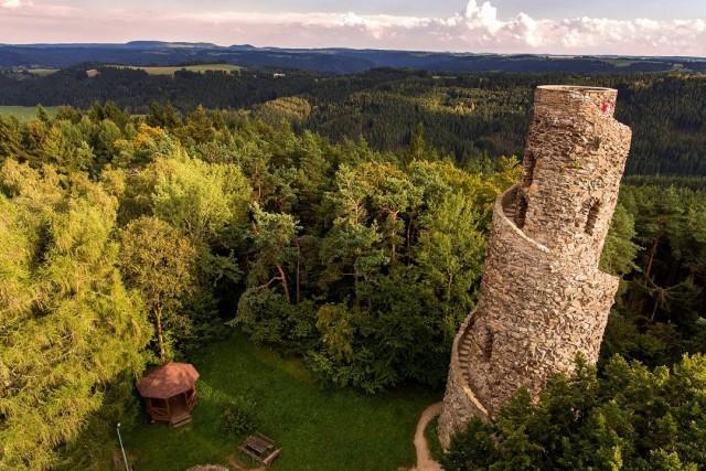 Krasno Town, Slavkov Forest Plateau, West Bohemia, Czech Republic