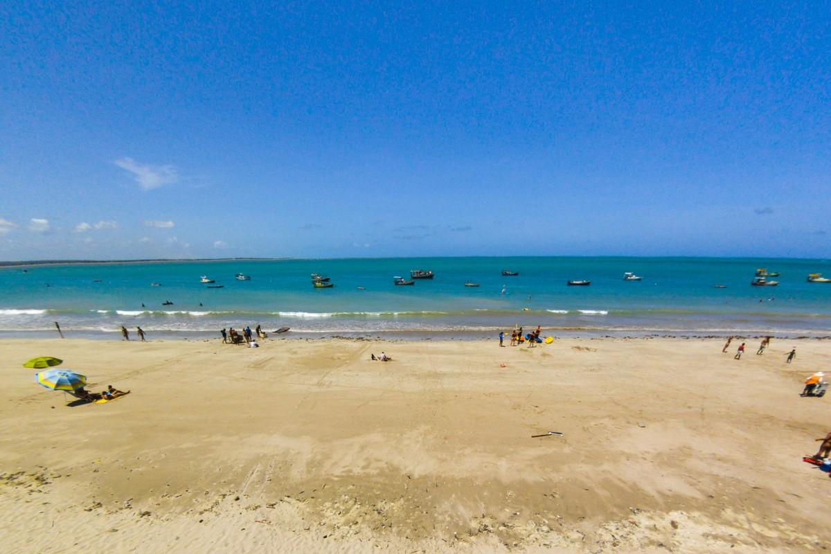Praia de Cabedelo, Paraiba, Brazil