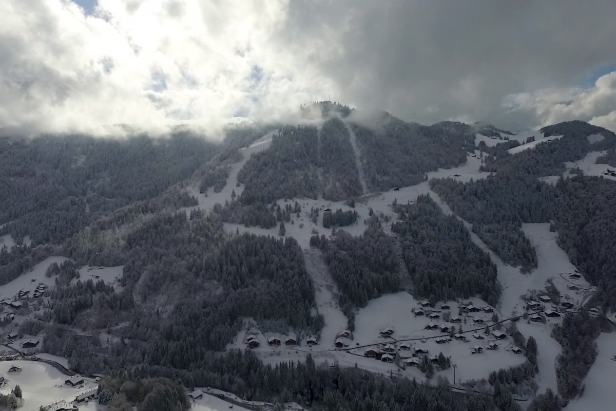 La Clusaz France  city photo : La Clusaz, France | Dronestagram