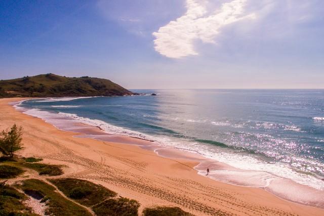 Praia do Silveira, Garopaba, Santa Catarina, Brasil