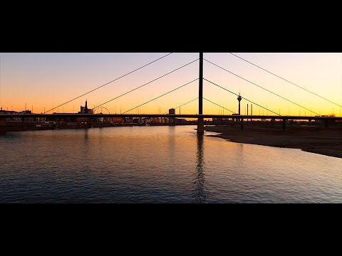 4k footage at sunset in Germany