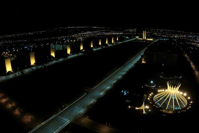 Esplanada dos Ministerios, Brasilia, Brasil