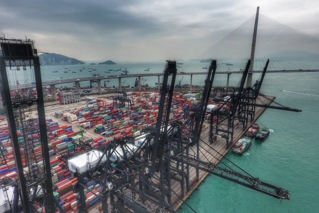 Hong Kong, Cargo Port