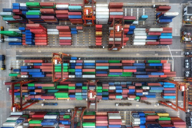Container Terminal, Hong Kong