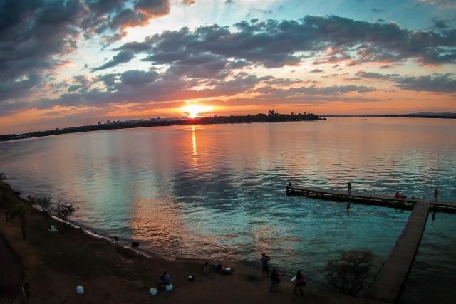 Lago paranoá, Ermida Dom Bosco, Brasilia, Brasil