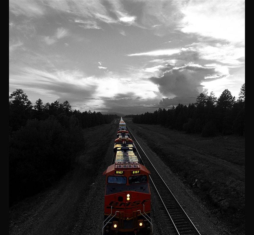 Williams, AZ BNSF Railroad Train