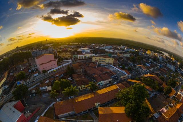 Sunset, Centro Historico, Joao Pessoa, Paraiba, Brazil