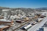 Downtown Truckee, California, USA