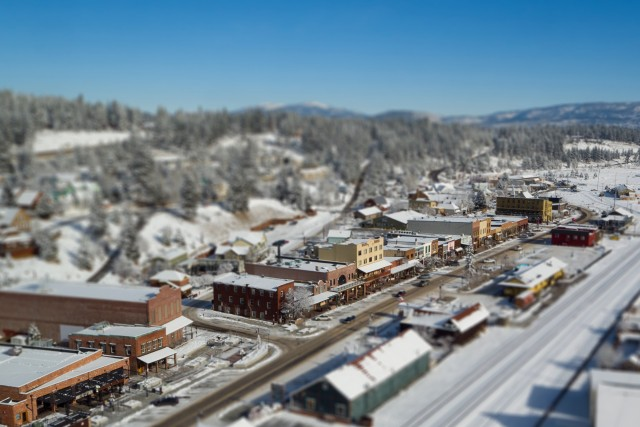 Downtown Truckee, California, USA
