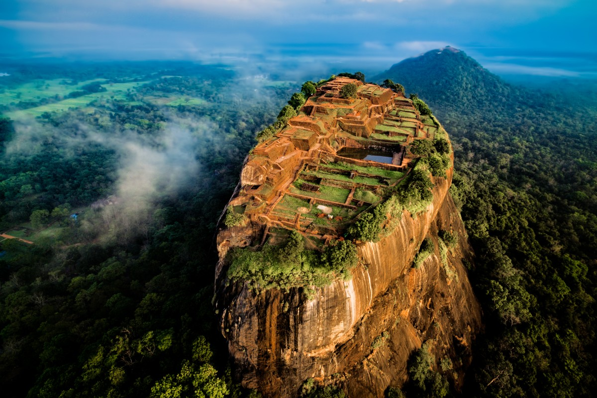 Sigiryia, the lion rock
