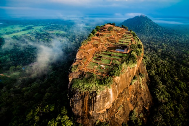 Sigiryia, the lion rock