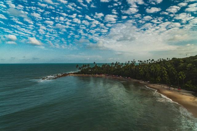 Coqueirinho's Beach, Conde, Paraiba, Brazil
