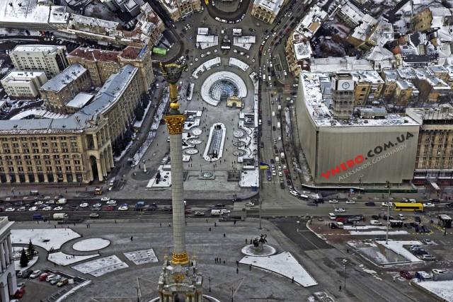 Maidan, Kyiv, Ukraine