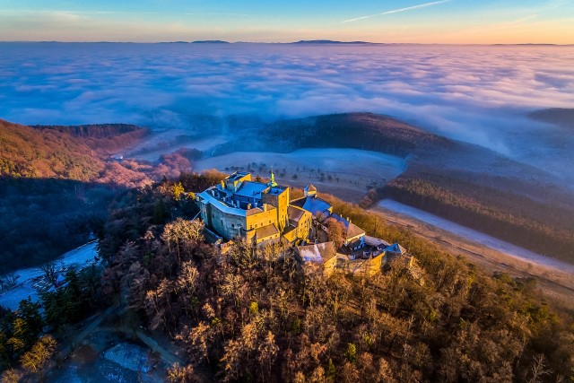 Buchlov Castle, Czech Republic