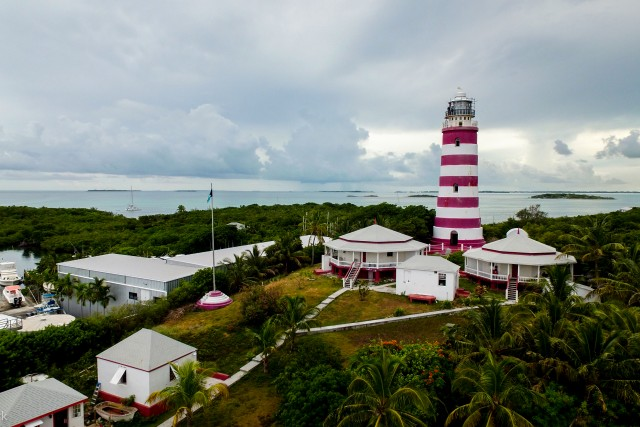 Elbow Reef Lighthouse, Hope Town, Elbow Cay, Bahamas