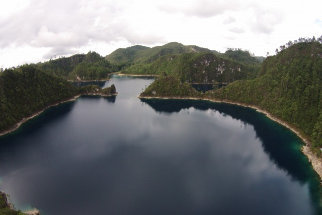 Pojoj Lake, Chiapas, MX