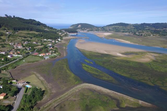 Ría de Villaviciosa.Asturias.