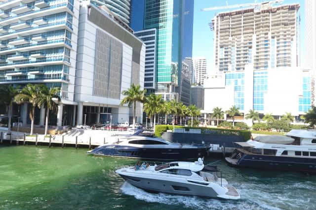 Downtown Brickell Miami Florida