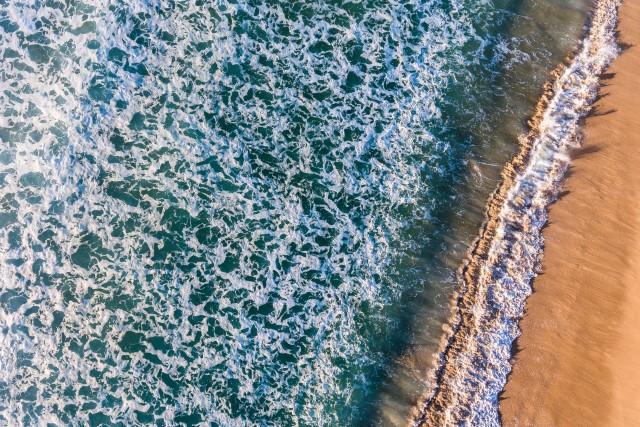 Montalvo Beach, Paxariñas, Sanxenxo, Galicia, Spain