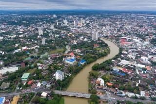Ping River ,Chiang Mai ,Thailand
