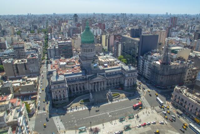 Congreso de la Nacion, Buenos Aires, Argentina